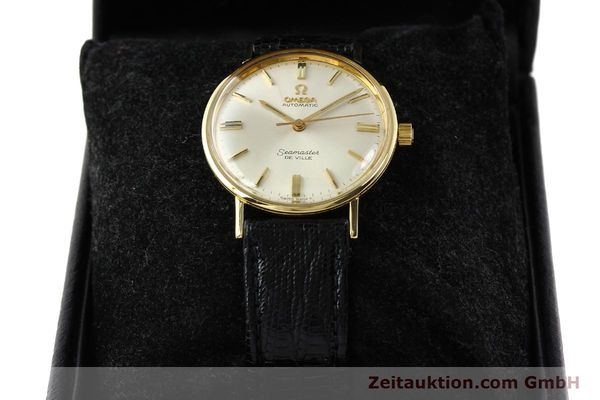 montre de luxe d occasion Omega Seamaster or 18 ct automatique Kal. 550 Ref. LL6609-1  | 140671 07