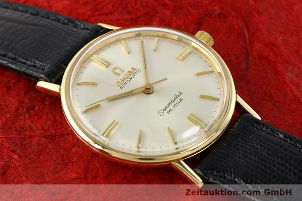 montre de luxe d occasion Omega Seamaster or 18 ct automatique Kal. 550 Ref. LL6609-1  | 140671 12