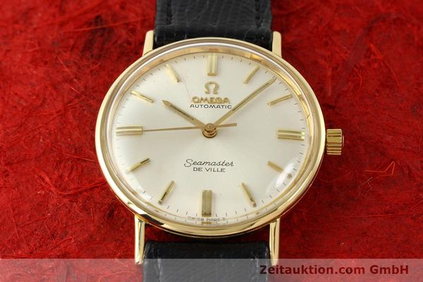 montre de luxe d occasion Omega Seamaster or 18 ct automatique Kal. 550 Ref. LL6609-1  | 140671 13