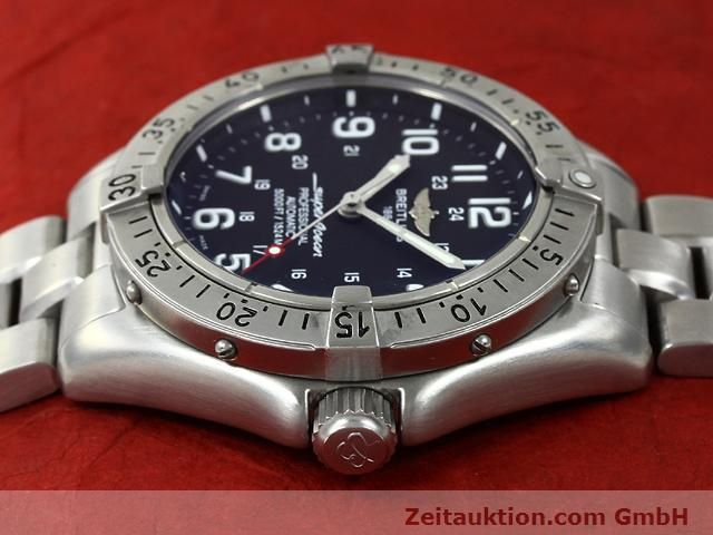 Used luxury watch Breitling Superocean steel automatic Kal. ETA 2824-2 Ref. A17345  | 140673 05
