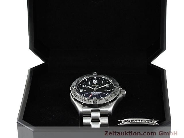 Used luxury watch Breitling Superocean steel automatic Kal. ETA 2824-2 Ref. A17345  | 140673 07