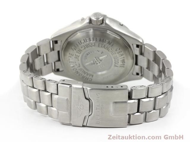 Used luxury watch Breitling Superocean steel automatic Kal. ETA 2824-2 Ref. A17345  | 140673 12