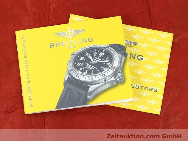 Used luxury watch Breitling Superocean steel automatic Kal. ETA 2824-2 Ref. A17345  | 140673 13