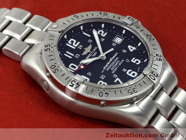 Used luxury watch Breitling Superocean steel automatic Kal. ETA 2824-2 Ref. A17345  | 140673 15