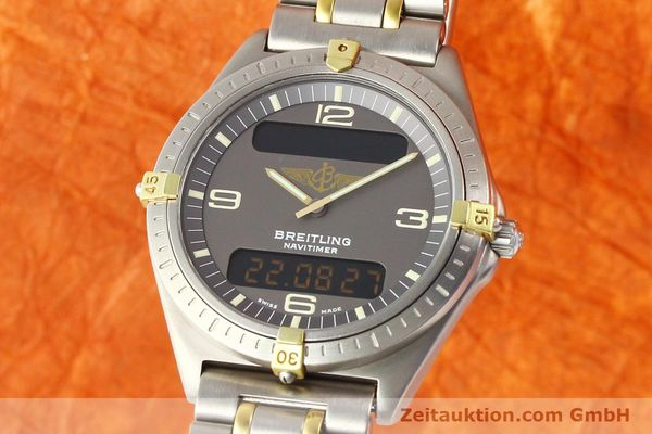 montre de luxe d occasion Breitling Aerospace titane / or quartz Ref. 80360  | 140674 04