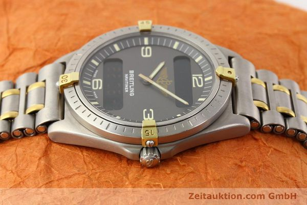 Used luxury watch Breitling Aerospace titanium / gold quartz Ref. 80360  | 140674 05