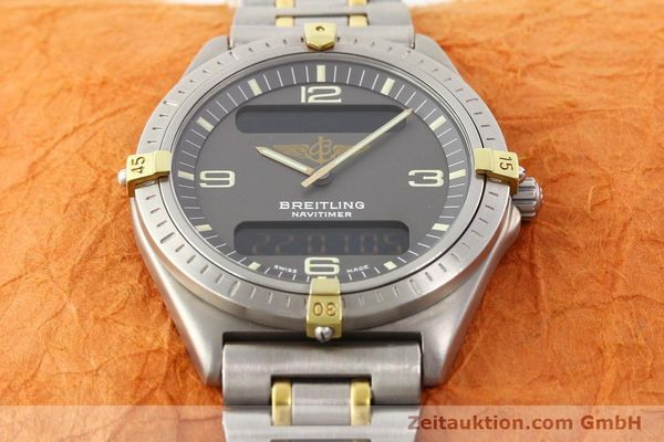 Used luxury watch Breitling Aerospace titanium / gold quartz Ref. 80360  | 140674 14