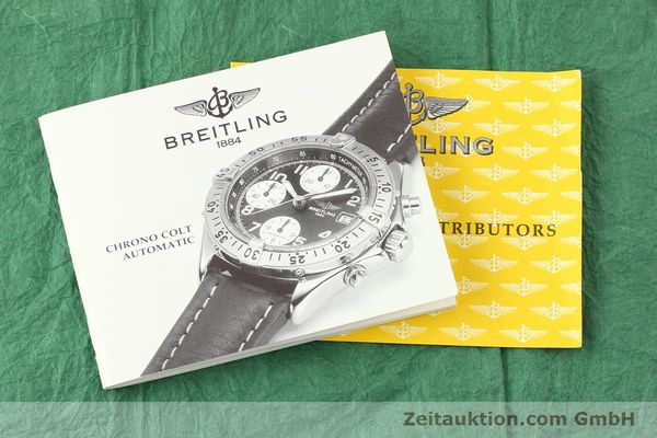 Used luxury watch Breitling Colt steel automatic Kal. ETA 7750 Ref. A13335  | 140676 15