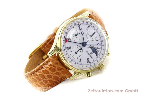 Used luxury watch Chronoswiss * gold-plated automatic Kal. ETA 7750 Ref. 77990  | 140677 03