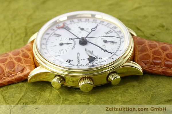 Used luxury watch Chronoswiss * gold-plated automatic Kal. ETA 7750 Ref. 77990  | 140677 05