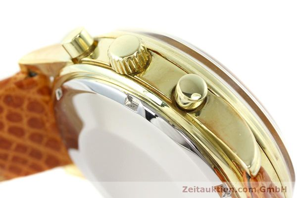 Used luxury watch Chronoswiss * gold-plated automatic Kal. ETA 7750 Ref. 77990  | 140677 11