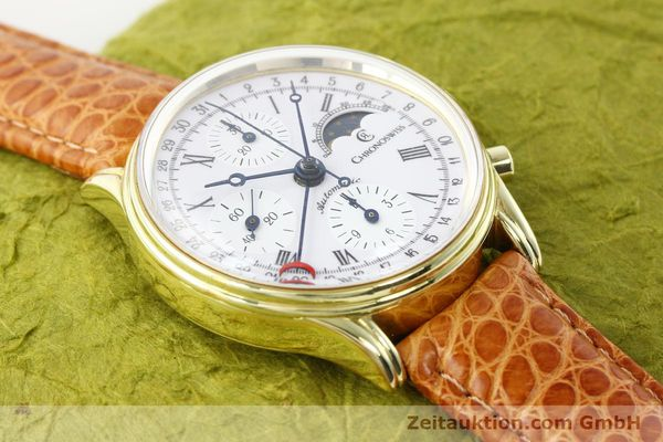 Used luxury watch Chronoswiss * gold-plated automatic Kal. ETA 7750 Ref. 77990  | 140677 13