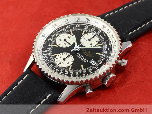 Used luxury watch Breitling Navitimer steel automatic Kal. Valjoux 7750 Ref. 81610  | 140678 01