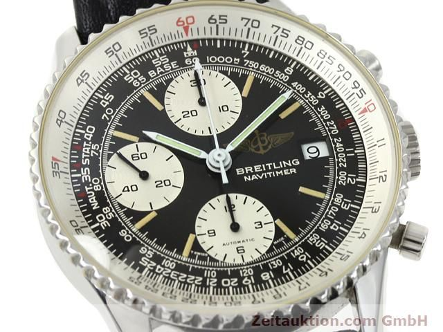 Used luxury watch Breitling Navitimer steel automatic Kal. Valjoux 7750 Ref. 81610  | 140678 02