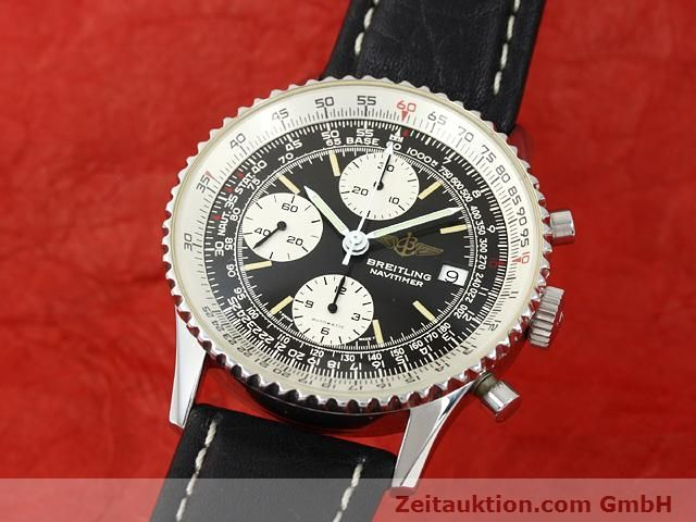 Used luxury watch Breitling Navitimer steel automatic Kal. Valjoux 7750 Ref. 81610  | 140678 04