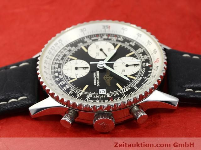 Used luxury watch Breitling Navitimer steel automatic Kal. Valjoux 7750 Ref. 81610  | 140678 05