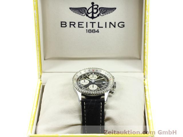 Used luxury watch Breitling Navitimer steel automatic Kal. Valjoux 7750 Ref. 81610  | 140678 07
