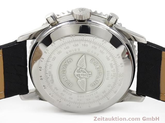Used luxury watch Breitling Navitimer steel automatic Kal. Valjoux 7750 Ref. 81610  | 140678 09