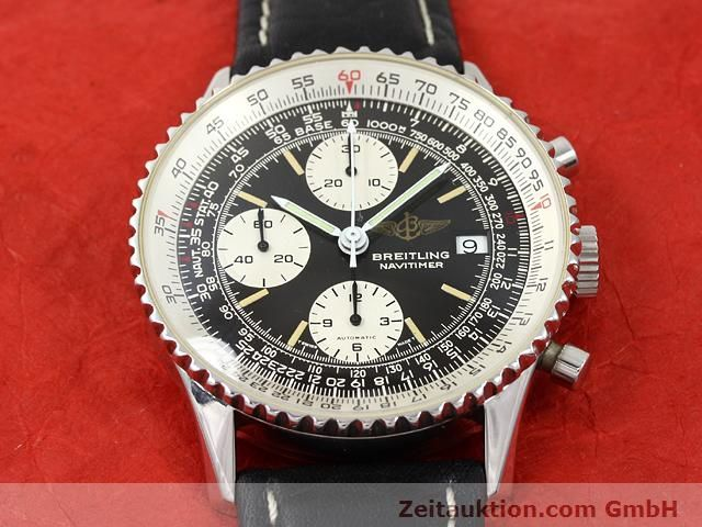Used luxury watch Breitling Navitimer steel automatic Kal. Valjoux 7750 Ref. 81610  | 140678 13