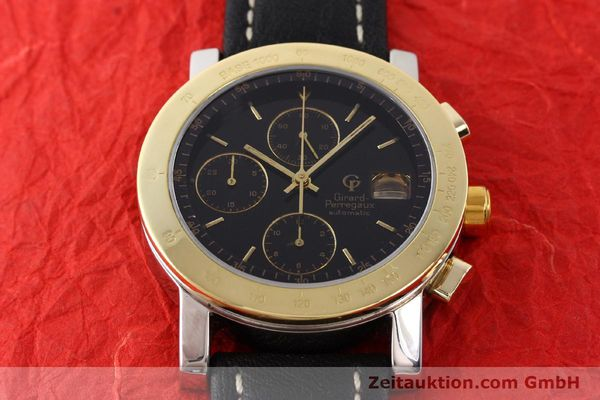 Used luxury watch Girard Perregaux 7000 steel / gold automatic Kal. 800-014 Ref. 7000GBM  | 140679 13