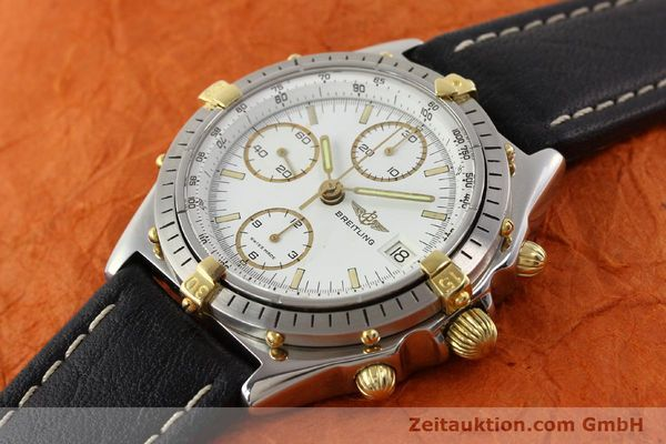 Used luxury watch Breitling Chronomat gilt steel automatic Kal. VAL 7750 Ref. 81950  | 140680 01