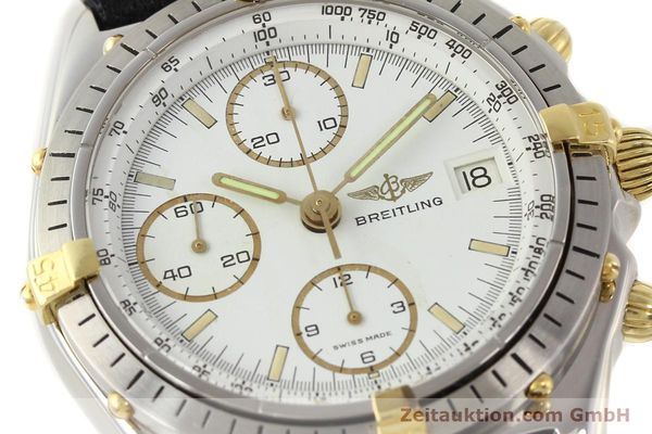 Used luxury watch Breitling Chronomat gilt steel automatic Kal. VAL 7750 Ref. 81950  | 140680 02