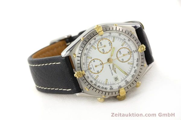 Used luxury watch Breitling Chronomat gilt steel automatic Kal. VAL 7750 Ref. 81950  | 140680 03