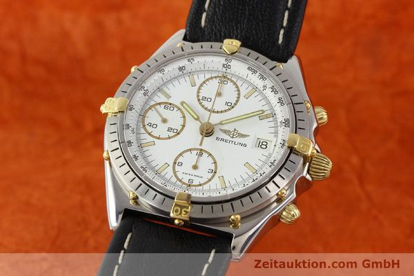 Used luxury watch Breitling Chronomat gilt steel automatic Kal. VAL 7750 Ref. 81950  | 140680 04