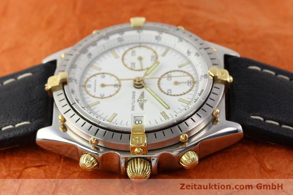 Used luxury watch Breitling Chronomat gilt steel automatic Kal. VAL 7750 Ref. 81950  | 140680 05