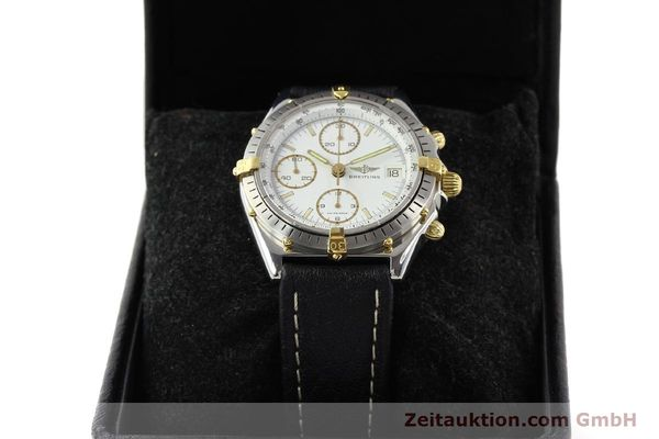 Used luxury watch Breitling Chronomat gilt steel automatic Kal. VAL 7750 Ref. 81950  | 140680 07