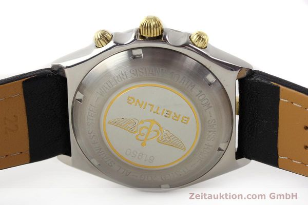 Used luxury watch Breitling Chronomat gilt steel automatic Kal. VAL 7750 Ref. 81950  | 140680 09