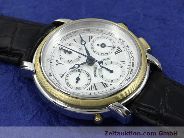 Used luxury watch Maurice Lacroix Masterpiece steel / gold automatic Ref. 61549  | 140682 14