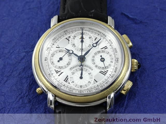 Used luxury watch Maurice Lacroix Masterpiece steel / gold automatic Ref. 61549  | 140682 15