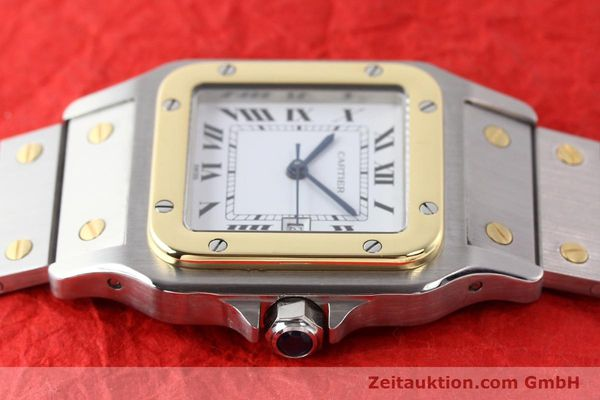 Used luxury watch Cartier Santos steel / gold automatic  | 140683 05