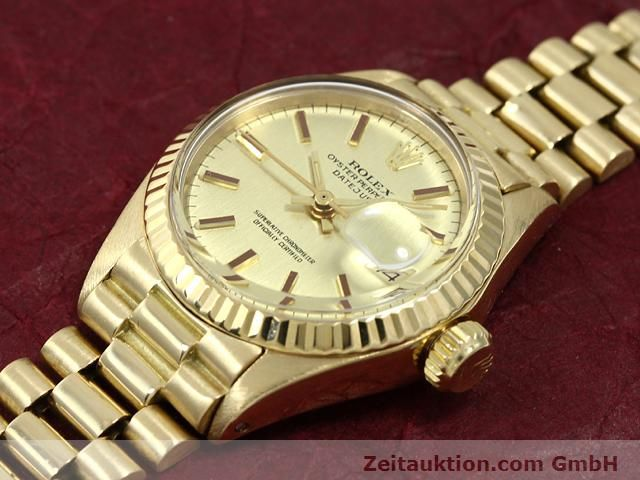 Used luxury watch Rolex Lady Datejust 18 ct gold automatic Kal. 2030 Ref. 6917  | 140685 01