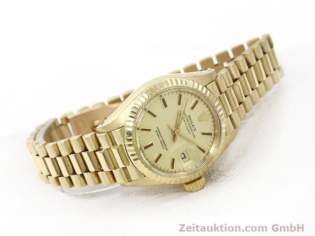 Used luxury watch Rolex Lady Datejust 18 ct gold automatic Kal. 2030 Ref. 6917  | 140685 03
