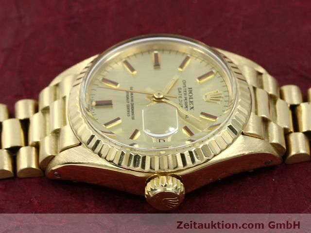Used luxury watch Rolex Lady Datejust 18 ct gold automatic Kal. 2030 Ref. 6917  | 140685 05