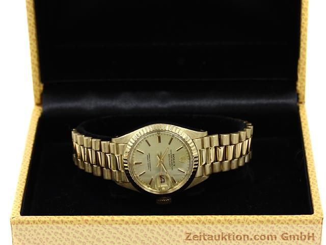 Used luxury watch Rolex Lady Datejust 18 ct gold automatic Kal. 2030 Ref. 6917  | 140685 07