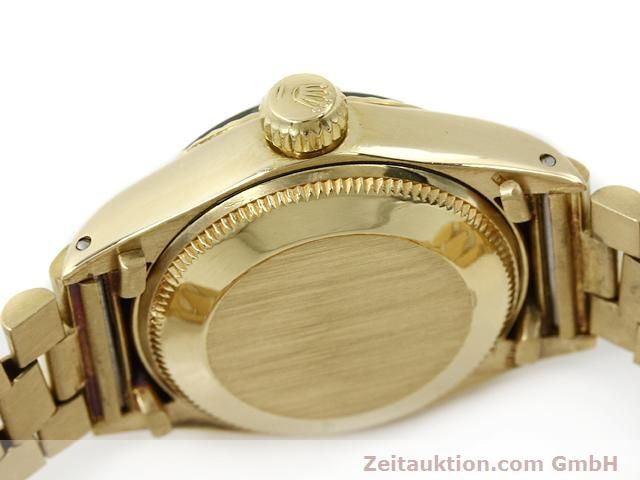 Used luxury watch Rolex Lady Datejust 18 ct gold automatic Kal. 2030 Ref. 6917  | 140685 08
