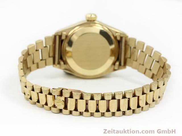 Used luxury watch Rolex Lady Datejust 18 ct gold automatic Kal. 2030 Ref. 6917  | 140685 11