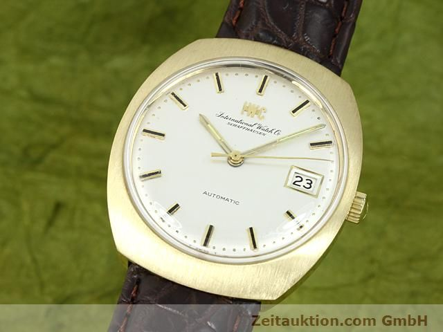 montre de luxe d occasion IWC * or 18 ct automatique Kal. C.8541  | 140689 04