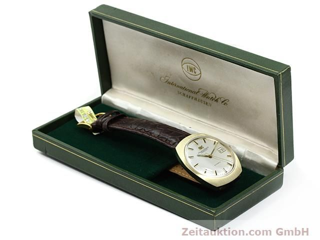 montre de luxe d occasion IWC * or 18 ct automatique Kal. C.8541  | 140689 07