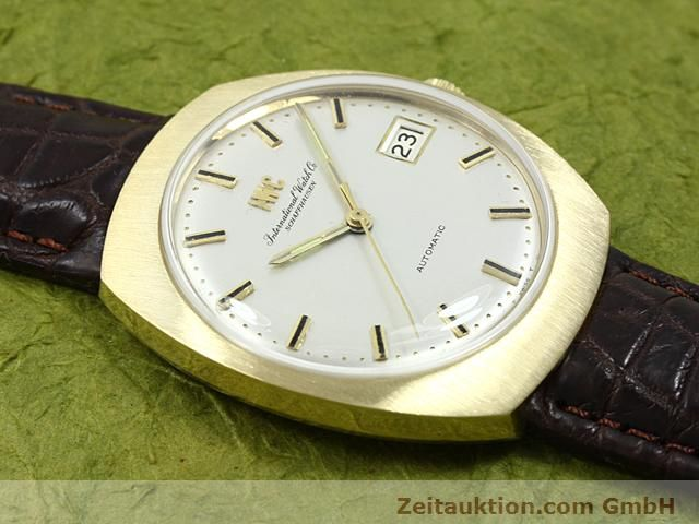 montre de luxe d occasion IWC * or 18 ct automatique Kal. C.8541  | 140689 13