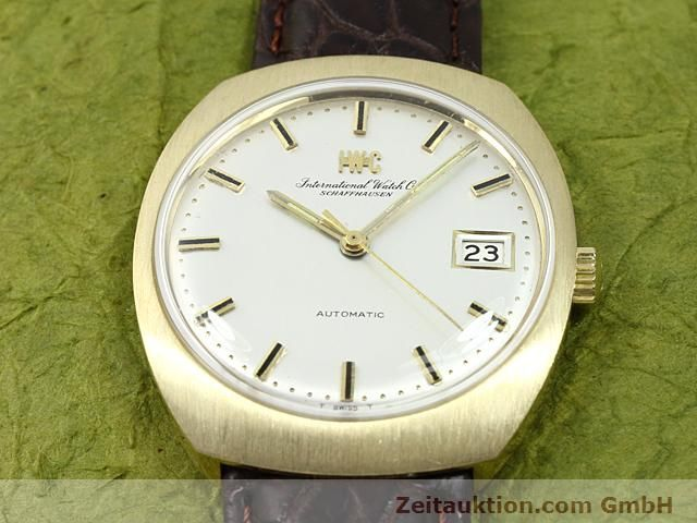 montre de luxe d occasion IWC * or 18 ct automatique Kal. C.8541  | 140689 14