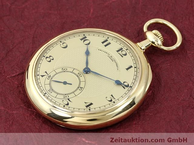 Used luxury watch Vacheron & Constantin Taschenuhr 18 ct gold manual winding  | 140693 01