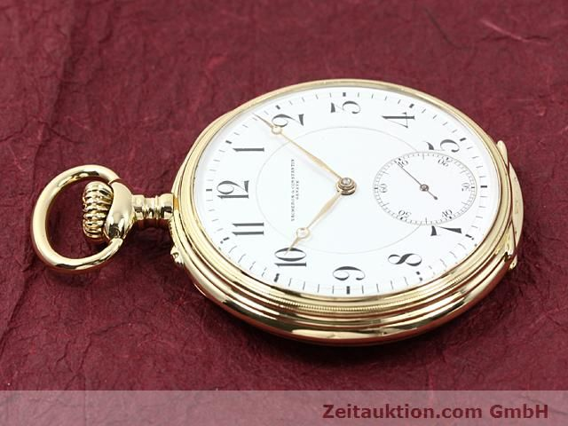 Used luxury watch Vacheron & Constantin Taschenuhr 18 ct gold manual winding  | 140695 05