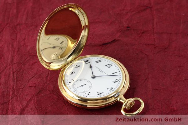 Used luxury watch Patek Philippe Taschenuhr 18 ct gold manual winding  | 140696 01