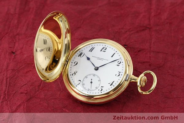 Used luxury watch Patek Philippe Taschenuhr 18 ct gold manual winding  | 140696 04