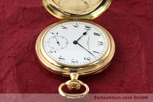 Used luxury watch Patek Philippe Taschenuhr 18 ct gold manual winding  | 140696 05