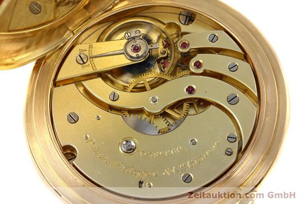 Used luxury watch Patek Philippe Taschenuhr 18 ct gold manual winding  | 140696 10